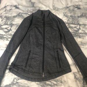 Lululemon define jacket heathered grey size 8